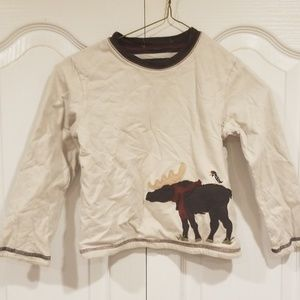 Janie and Jack Shirts & Tops - Janie and Jack Boys 4t Moose reversible shirt
